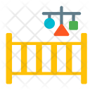 Crib Bed Toy Icon