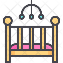Crib Baby Child Icon