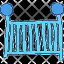Crib Cage Baby Crib Icon