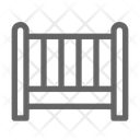 Crib Baby Bed Icon