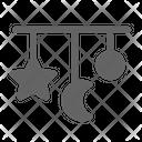 Crib Mobile Baby Icon
