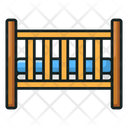 Baby Crib Baby Bed Baby Cot Icon