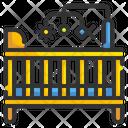Crib Baby Crib Baby Icon