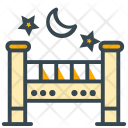 Crib Stroller Kid Icon