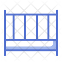 Bed Baby Kid Icon