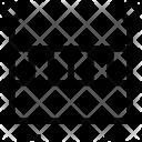 Bed Cradle Crib Icon