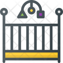 Crib Bed Baby Icon