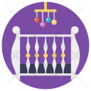 Crib Mobile Hanging Icon