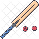 Cricket Bat Sport Icon