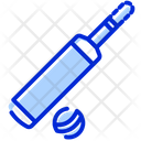 Cricket Game Bat Icon