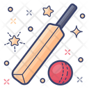 Cricket Olympic Game National Game Icon