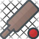 Cricket Fittness Sport Icon