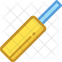Cricket Bat Fun Icon