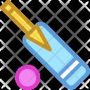 Cricket Bat Game Icon