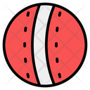 Cricket Ball Leather Ball Hard Ball Icon