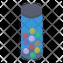 Cricket Balls Ball Container Balls Bottle Icon