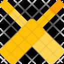 Cricket bats Icon