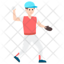 Cricket Bowler Icon