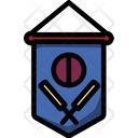 Cricket Competition Flag Cricket Flag Flag Icon