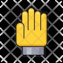 Gloves Cricket Hand Icon