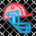 Cricket Helmet Icon