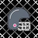 Helmet Cricket Safety Icon