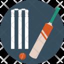 Kit Cricket Equipment Icon