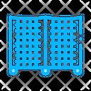 Batting Cage Cricket Icon