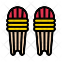 Cricket Pads Safety Icon