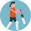 Cricket Player Team Icon