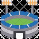 Cricket Stadium Stadium Cricket Playground Icon