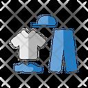 Uniform Flannel Sportswear Icon
