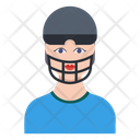 Cricketer Sportsman Batsman Icon