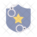 Crime Security Star Icon