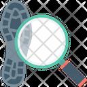 Crime Investigation Magnifier Icon