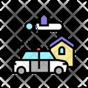Crime Area Icon