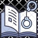 Novel Crime Detective Icon