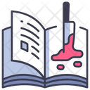 Book Horror Scary Icon