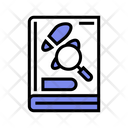 Crime Detection Book Icon