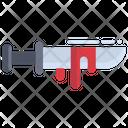 Crime Knife Icon