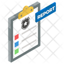Police Report Incident Report Crime Report Icon