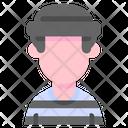 Criminal Man Thief Icon