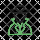 Criminal Profession Avatar Icon