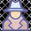 Criminal Detective Law Icon
