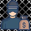Criminal Prisoner Inmate Icon
