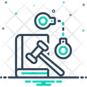 Criminal Handcuff Enforcement Icon