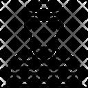 Criminal Man Prisoner Icon