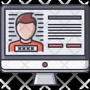 Criminal Database Law Icon