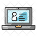 Criminal Details Biodata Evidence Icon