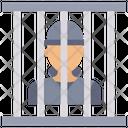 Criminal In Jail Prison Jail Icon